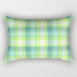 Spring Plaid 3 Rectangular Pillow
