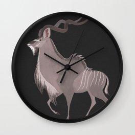Greater Kudu Wall Clock