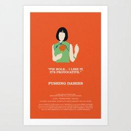Pushing Daisies - Vivian Art Print