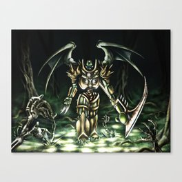 Necropolis  Canvas Print