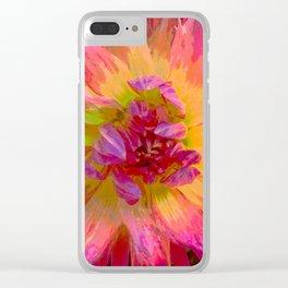 "Extreme Dahlia ""Hollyhill Margarita"" Clear iPhone Case"