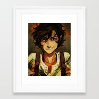 leo Framed Art Prints featuring Leo by viria