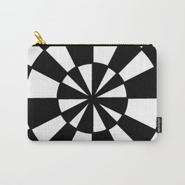 Optical pattern 78 -wheel Carry-All Pouch