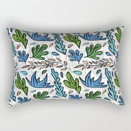Tropical Leaves 2 Rectangular Pillow