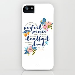 Perfect Peace iPhone Case
