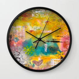 Summer Afternoons Wall Clock