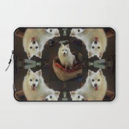 American Eskimo Love Laptop Sleeve