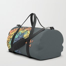 The Great Wave of Music Duffle Bag