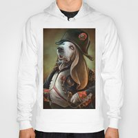 napoleon Hoodies featuring Napoleon Boneaparte by Christina Hess