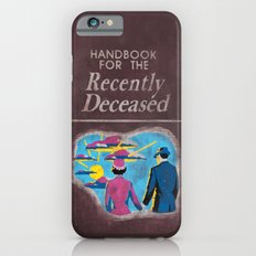 Beetlejuice - Handbook for the recently deceased iPhone 6 Slim Case