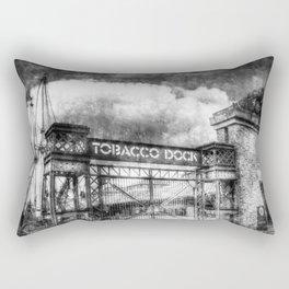 Tobbaco Dock London Vintage Rectangular Pillow