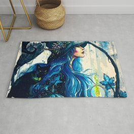 Witchy Woman (Halloween) Rug
