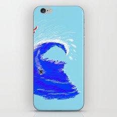 surf design iPhone & iPod Skin