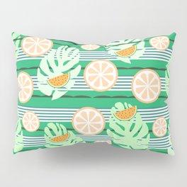 Watermelons underwater Pillow Sham