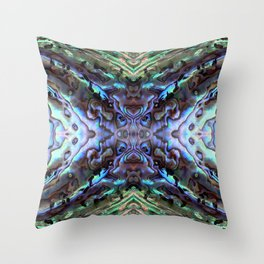 Abalone Throw Pillow