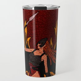 Resident Evil Claire Redfield Jacket Travel Mug
