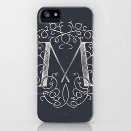 """""""M""""ONOGRAM iPhone Case"""