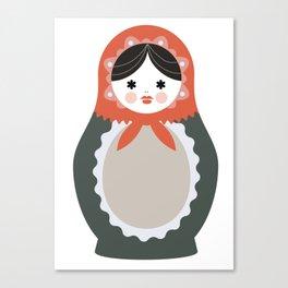 Matrioska-004 Canvas Print