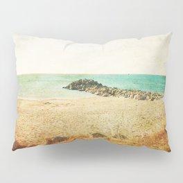 Beach in southern France - summer memories Pillow Sham