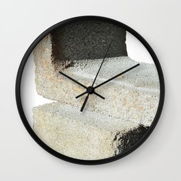 block study Wall Clock