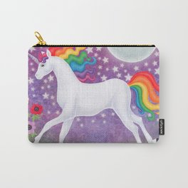 wanderlust (rainbow unicorn), moon and stars, anemone Carry-All Pouch