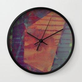 disquiet eighteen (forbidden colors) Wall Clock