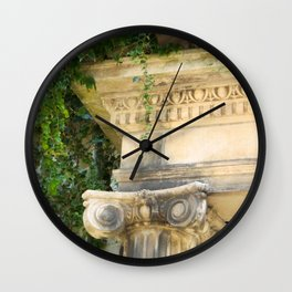 Ionic Ivy, Boston Wall Clock
