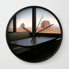 Mystic Land of Monument Valley Wall Clock