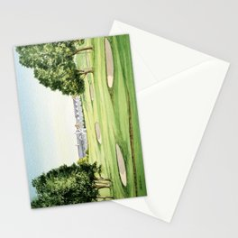 Southern Hills Golf Course 18th Hole Stationery Cards
