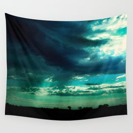 Morning Storm-Iowa Wall Tapestry