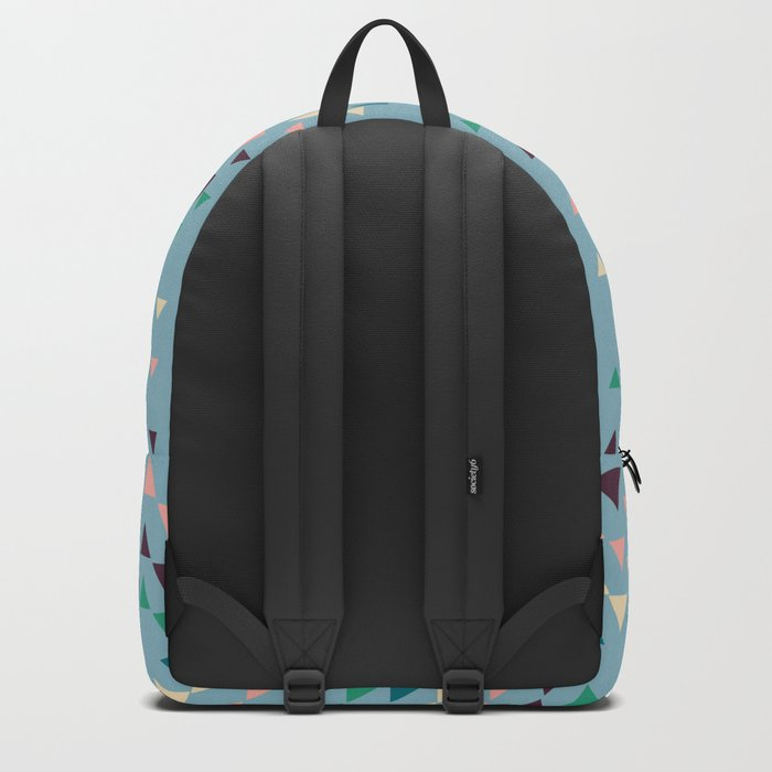 3 shades blue Backpack