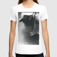 feet T-shirts featuring feet by STEPHANIE SWAIM
