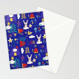 Tortoise and the Hare is one of Aesop Fables blue Stationery Cards
