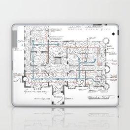 Haunting of Hill House Blueprint Laptop & iPad Skin