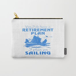 SAILING PLAN Carry-All Pouch