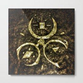 Triple Womb Metal Print