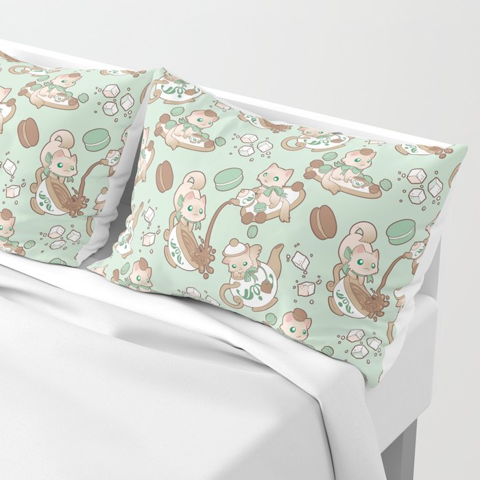 Kittea Time Pillow Sham