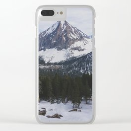East Vidette - Pacific Crest Trail, California Clear iPhone Case