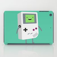 video games iPad Cases featuring Who wants to play video games?  by Dean Lord