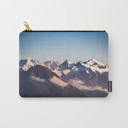 Snowy Peaks Carry-All Pouch
