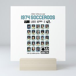 1974 Socceroos Our History Mini Art Print