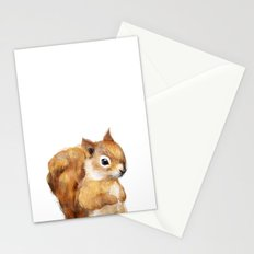 Little Squirrel Stationery Cards