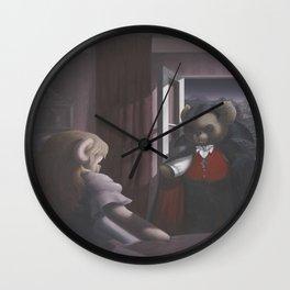 DracuTeddy Wall Clock
