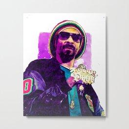 Snoop Dogg Metal Print