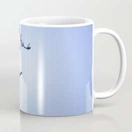 Bird Silhouette - Blue Skies Coffee Mug