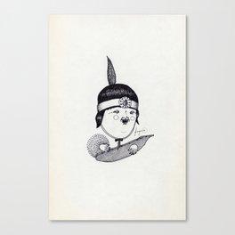 Apache Kid Canvas Print