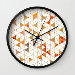 Isometric Wall Clock