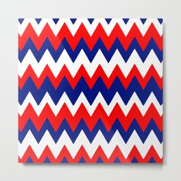 Red, White and Blue, 2016 Metal Print