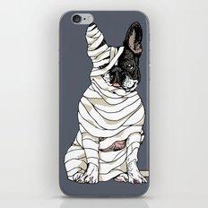 Mummy French Bulldog iPhone & iPod Skin