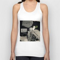 architect Tank Tops featuring Behind the architect III by Paul Prinzip